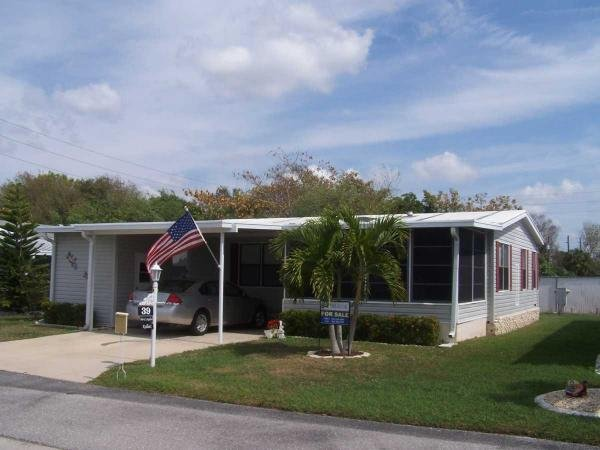 Mobile Home at 24300 Airport Road, Site #39, Punta Gorda, FL