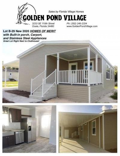 Mobile Home at 3233 Se 110Th Street, B29 Ocala, FL 34480