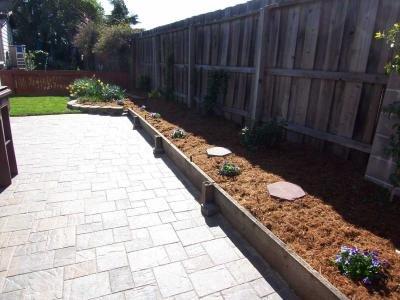 Raised planting area