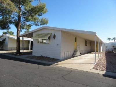 Mobile Home at 10960 N. 67th Avenue #29 Glendale, AZ 85304