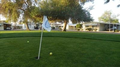 Four Putting Greens