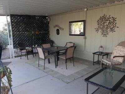 Lovely rear patio