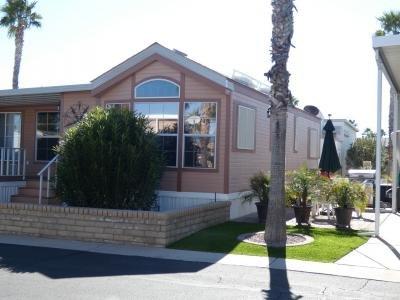 Mobile Home at 1110 North Henness Rd. #1575 Casa Grande, AZ