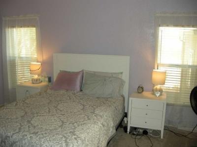 bright & private master bedroom