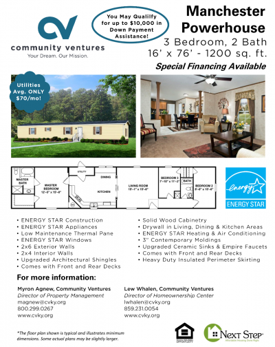Mobile Home at 422 Hawthorne Dr. Richmond, KY 40475