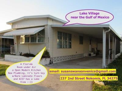 Mobile Home at 237 2nd Street West Nokomis, FL 34275