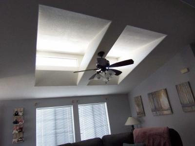 Skylights and Ceiling fan