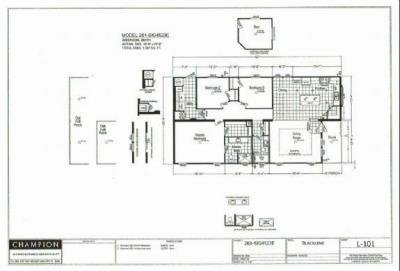 Mobile Home at 107 Osprey Drive New Smyrna Beach, FL 32168