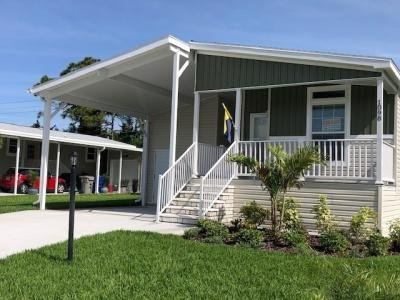 Mobile Home at 1098 WEST LAKEVIEW DRIVE Sebastian, FL 32958