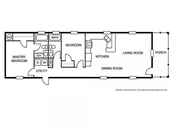 2020 Fleetwood - Douglas Mobile Home For Sale
