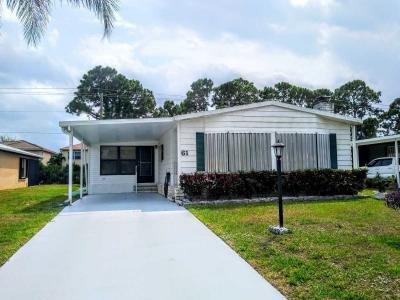 Mobile Home at 61 San Luis Obispo Fort Pierce, FL 34987
