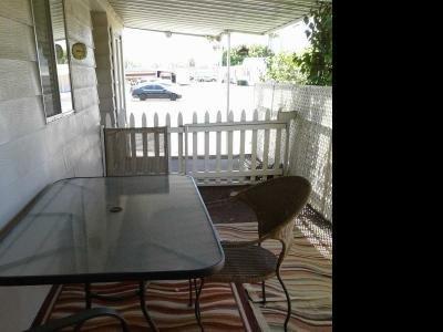 large patio