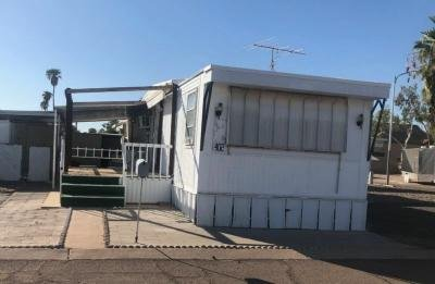 Mobile Home at 701 S. Dobson Rd. Lot 402 Mesa, AZ 85202