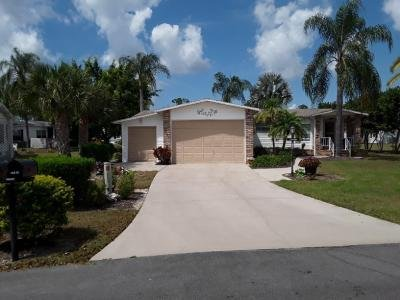 Mobile Home at 19419 Saddlebrook Ct., #50E North Fort Myers, FL 33903