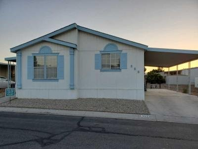 Mobile Home at 5805 W Harmon Ave Sp#322 Las Vegas, NV 89103