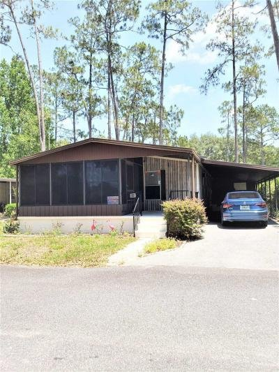 Mobile Home at 13582 E. Hwy 40, Lot #110 Silver Springs, FL 34488