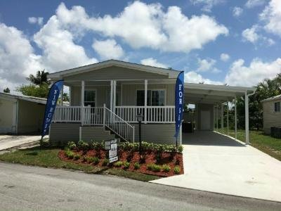 Mobile Home at 3111 S.W. 50th Terrace Davie, FL 33314