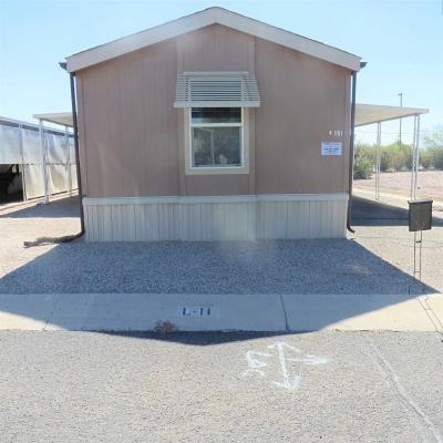 Mobile Home at 2305 W. Ruthrauff, #L11 Tucson, AZ 85705