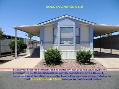 Mobile Home at 9828 E Pueblo Ave #65 Mesa, AZ 85208