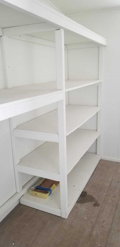 Shelving in Art Storage RM