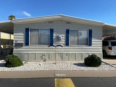Mobile Home at 205 S Higley Rd., #81 Mesa, AZ 85206