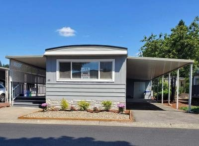 Mobile Home at 13640 Se Hwy 212, Sp. #85 Clackamas, OR 97015