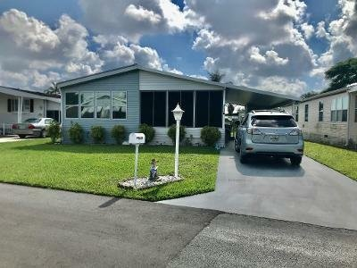 Mobile Home at 6094 Palm Harbour Dr. Lantana, FL 33462