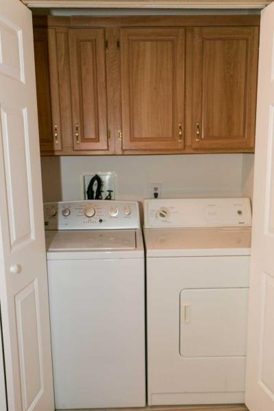 Washer & Dryer - Laundry Closet