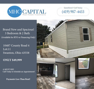 Mobile Home at 10487 County Road 4 Swanton, OH 43558