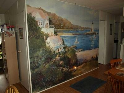 Mural in family room
