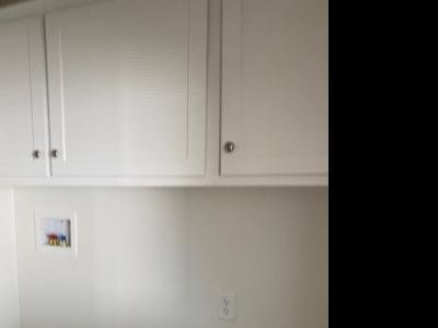 Cabinets over Washer Dryer