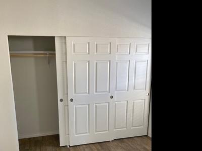 Master bedroom entire wall closet