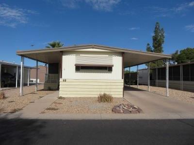 Mobile Home at 6960 W. Peoria Avenue #49 Peoria, AZ 85345