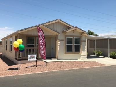 Mobile Home at 11596 West Sierra Dawn Blvd., Lot # 27 Surprise, AZ 85378