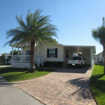 Mobile Home at 164 Coral Lane Vero Beach, FL 32960