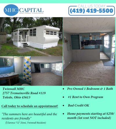 Mobile Home at 2757 Tremainsville Road Toledo, OH 43613
