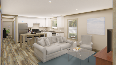 Living Room. Picture from Dealer