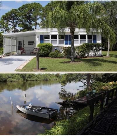 Mobile Home at 79 Camino Del Rio Port Saint Lucie, FL 34952