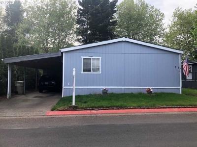 Mobile Home at 8300 Ne Quatama St #73 Hillsboro, OR 97006
