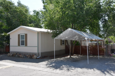 Mobile Home at 5590 Leon Dr #20 Sun Valley, NV 89433