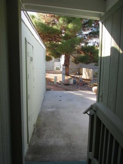 Up to Back door in Carport