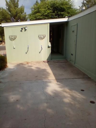 Back cement patio area