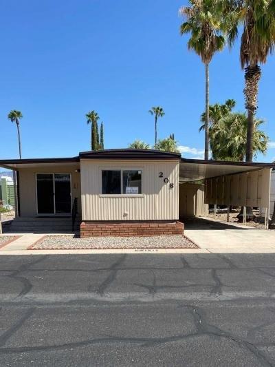 Mobile Home at 3411 South Camino Seco, Unit 208 Tucson, AZ 85730