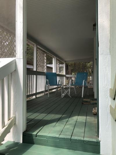 Large covered porch/deck