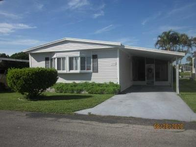 Mobile Home at 1455 90Th Avenue Lot 218 Vero Beach, FL 32966