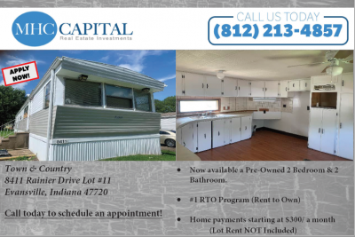 Mobile Home at 8411 Rainier Drive Evansville, IN 47720