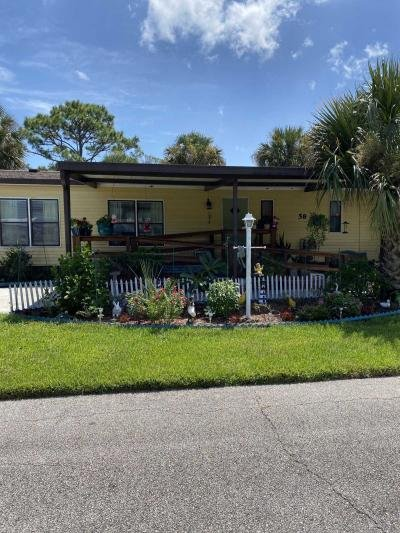 Mobile Home at 58 White Feather Lane Flagler Beach, FL 32136