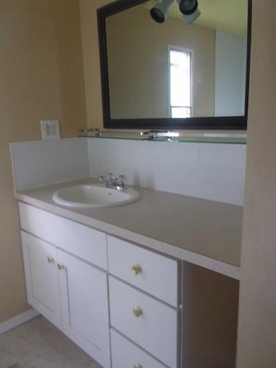 large sink area