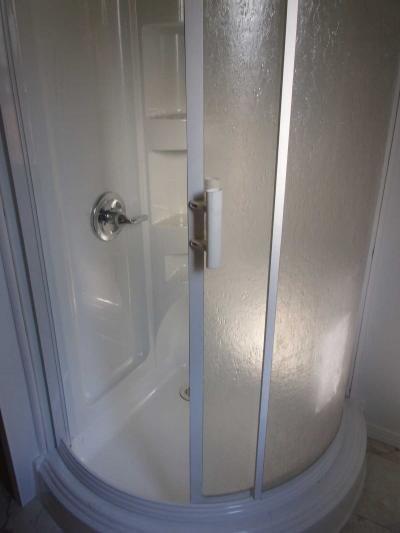 beautiful new shower