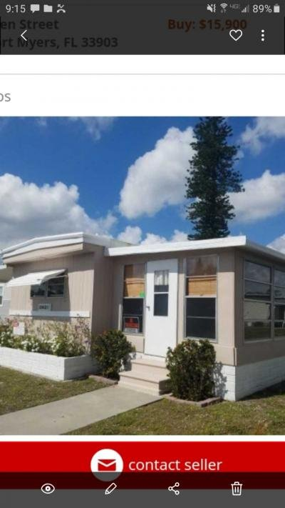Mobile Home at 382 Bergen St North Fort Myers, FL 33903